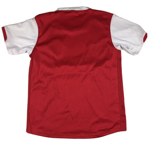 VTG 2006 Arsenal Football Soccer Jersey Embroidered Fly Emirates Red/White Sz M
