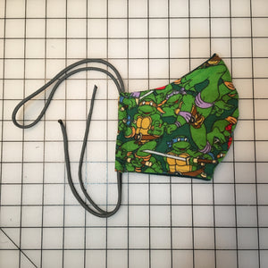 Reworked Teenage Mutant Ninja Turtles Face Mask
