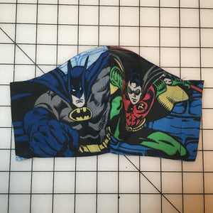 Reworked Batman and Robin Face Mask
