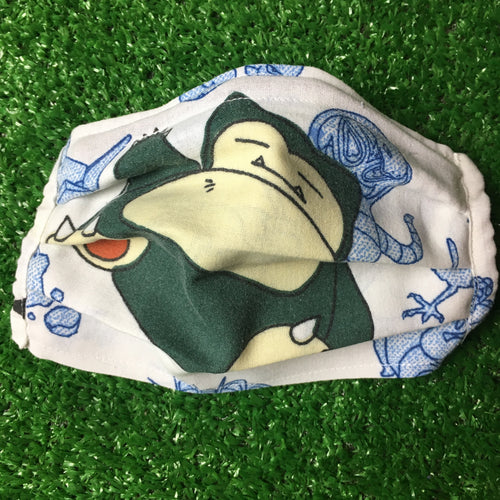 Reworked Pokemon Face Mask (Snorlax)