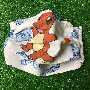 Reworked Pokemon Face Mask (Charmander)