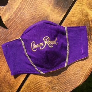Crown Royal Face Mask (Purple)