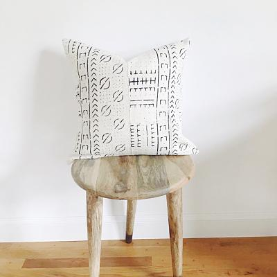 BUNME Throw Pillow | African Mud Cloth Hudson and Harper