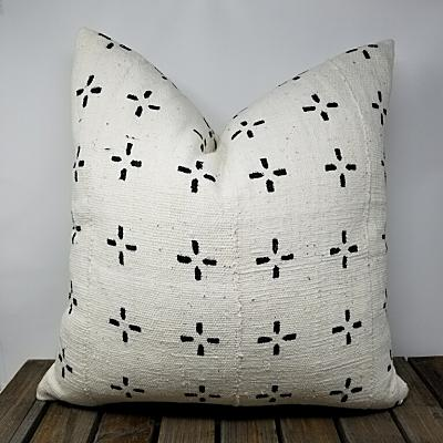ZOLA Throw Pillow | African Mud Cloth
