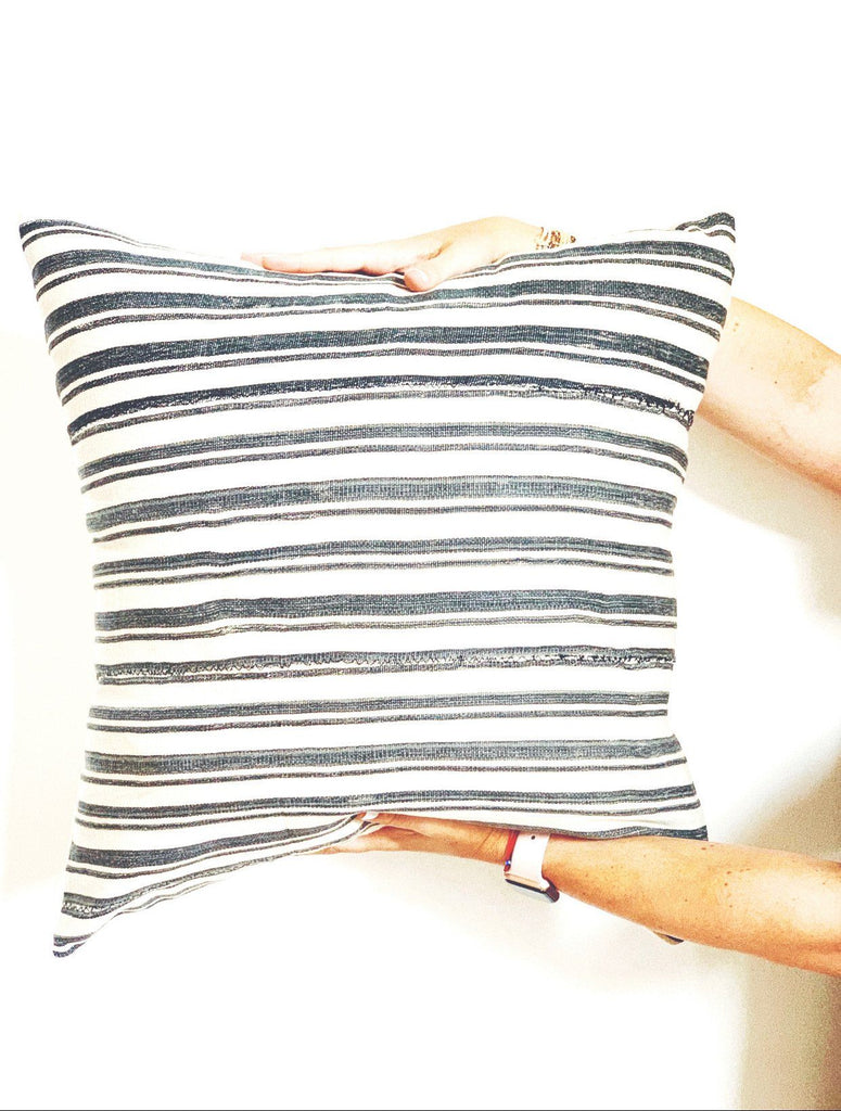 KOFI Throw Pillow | Vintage African Baoule