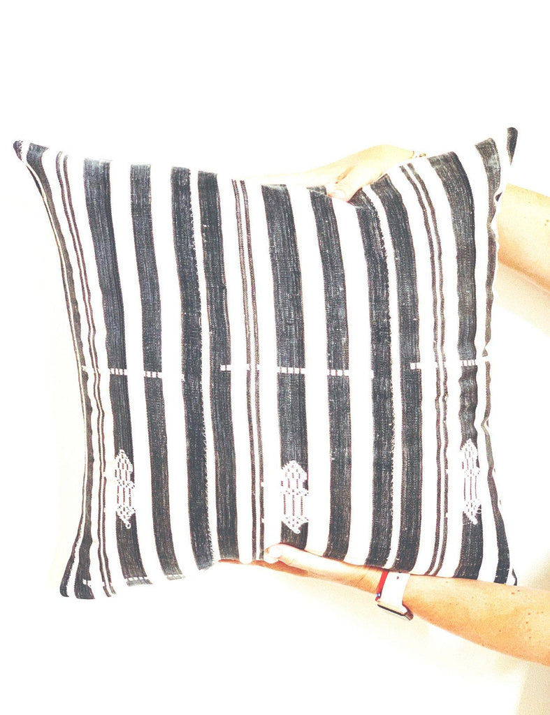 NAILAH Throw Pillow | Vintage African Baoule