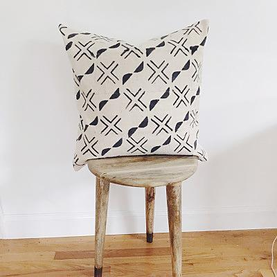 OBA Throw Pillow | African Mud Cloth