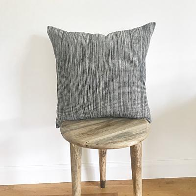 STORY Throw Pillow | Hand Woven Organic Cotton Hudson and Harper
