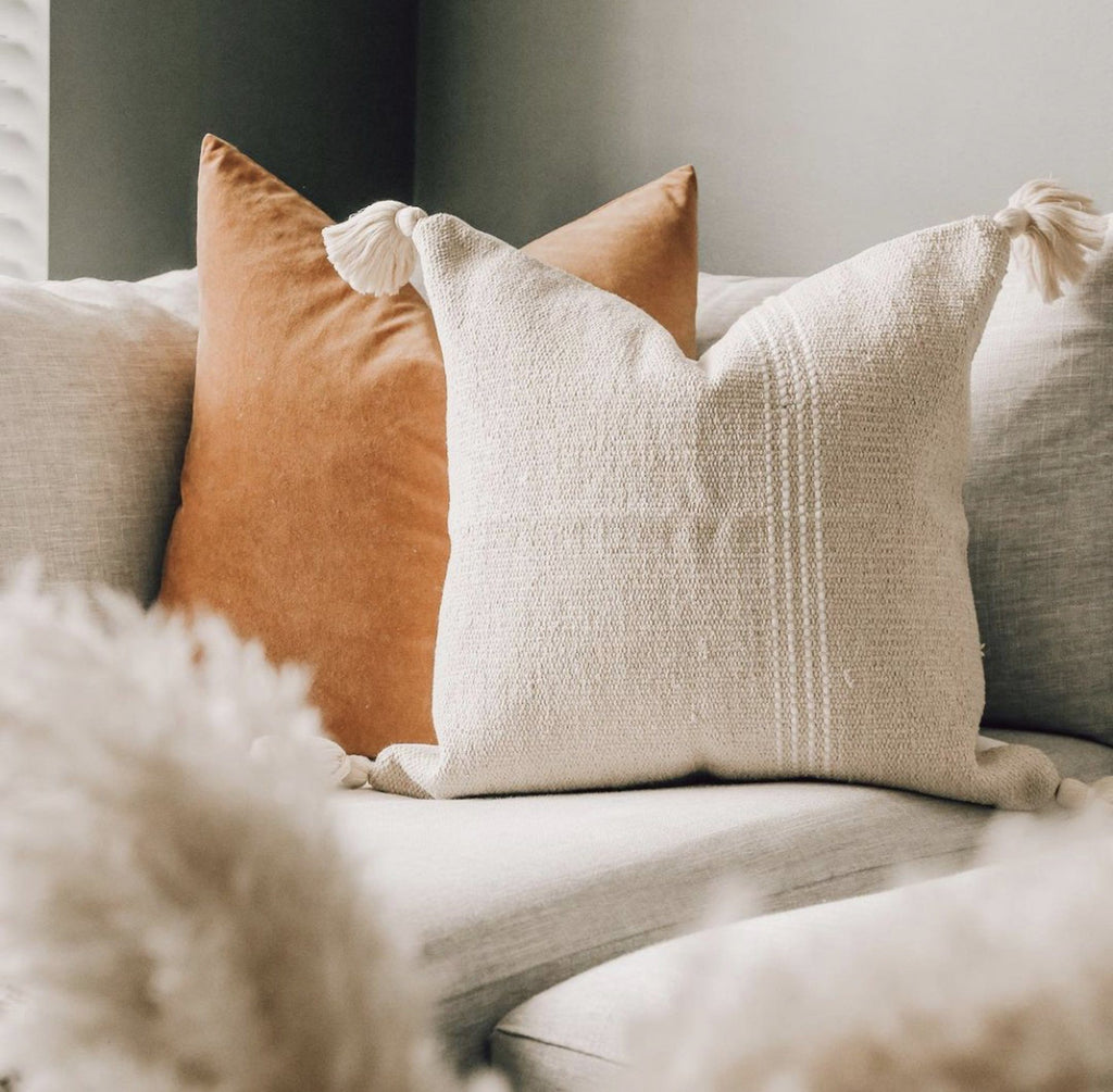 CAELUM Throw Pillow | The Skye Collection Hudson and Harper