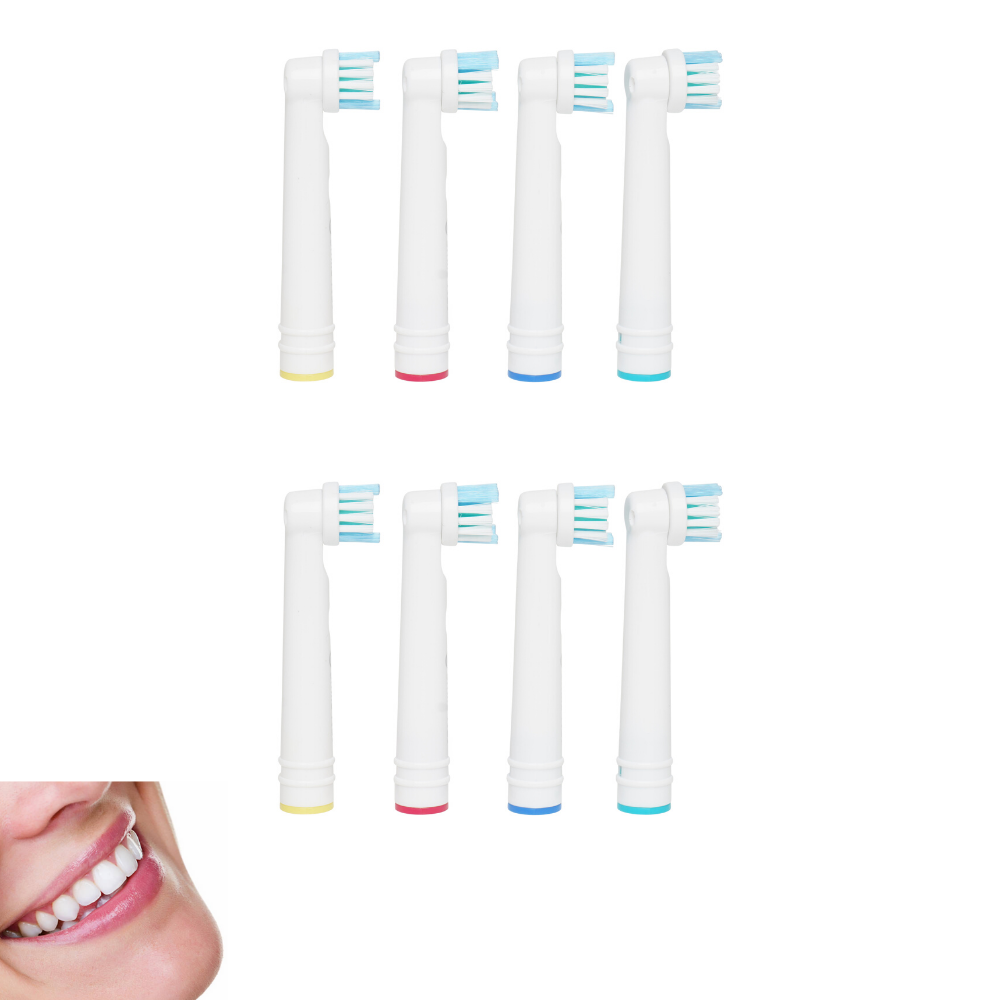 Replacement Brush Heads Compatible with Oral B