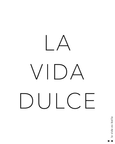 La vida dulce Thermal
