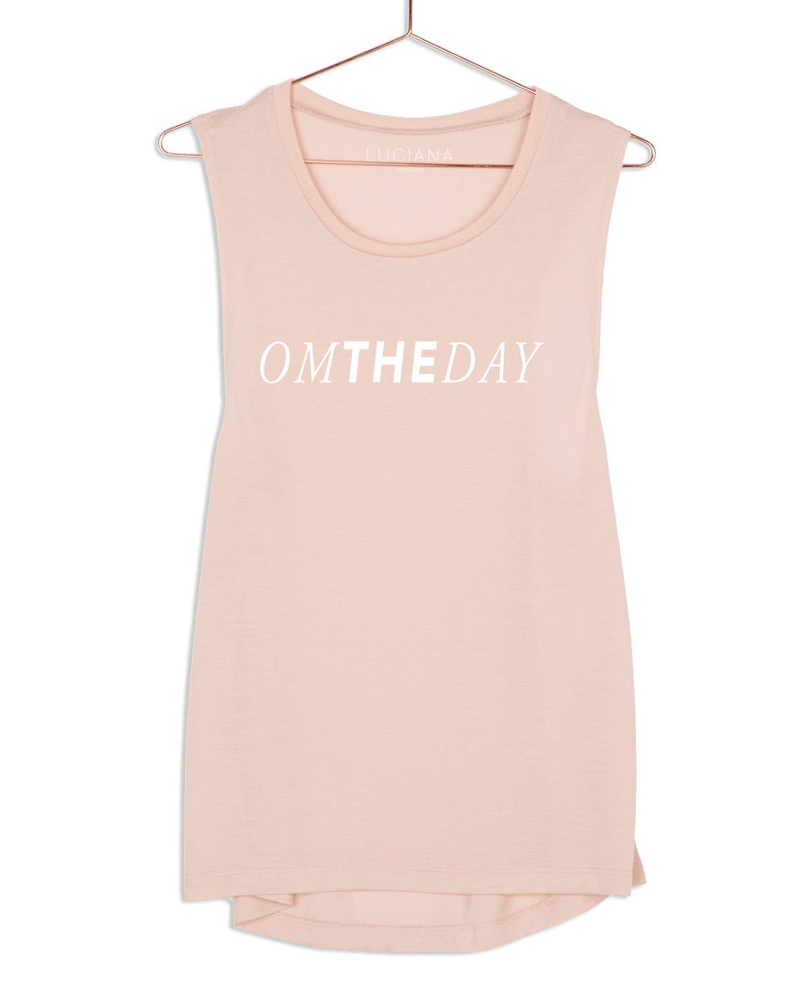 Om the Day Muscle Tank