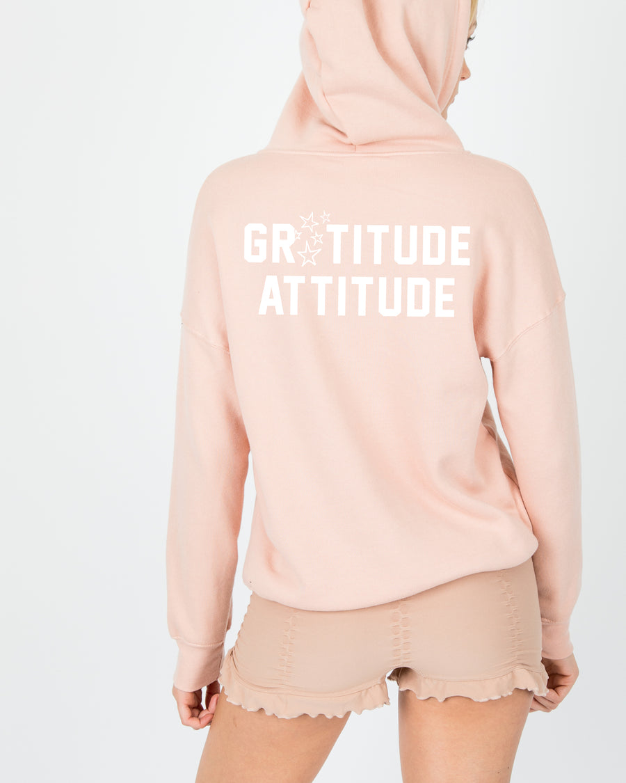 Gratitude Attitude Hooded Sweater