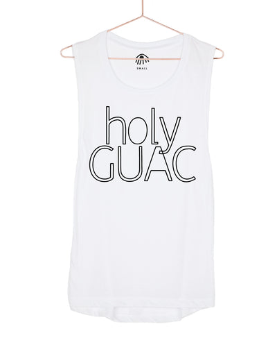 Holy guac Muscle Tank