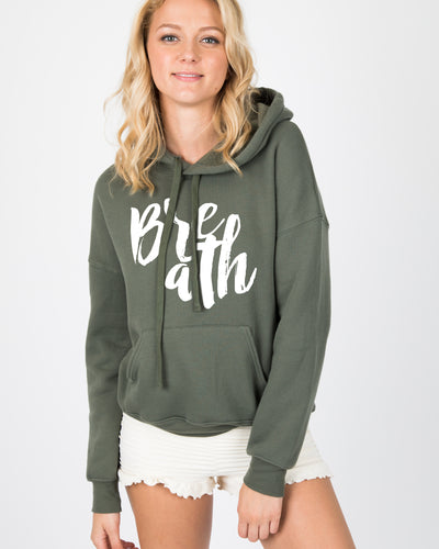 Breath Hooded Sweater