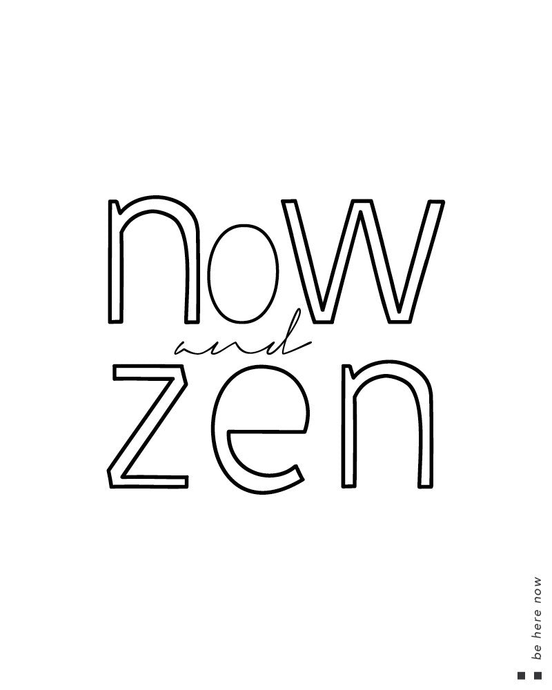 Now and zen Scoop Tee