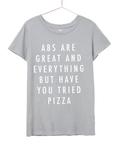 Abs are great, but have you tried Pizza Tee