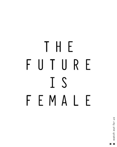 The future is female Scoop Tee