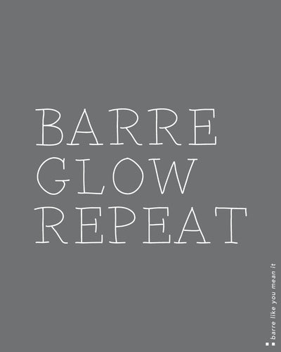 Barre Glow Repeat High Neck Tank