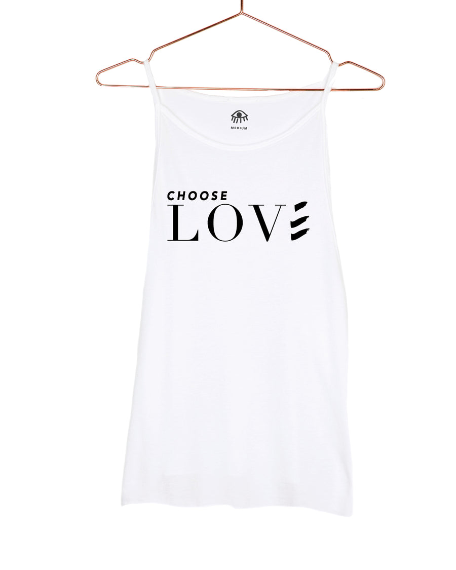 Choose LOVE High Neck Tank