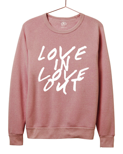 Love in Love out Crewneck