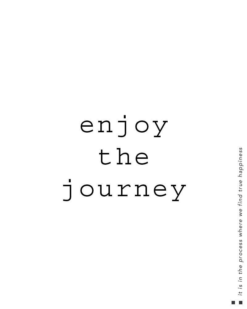 Enjoy The Journey Hooded Sweater