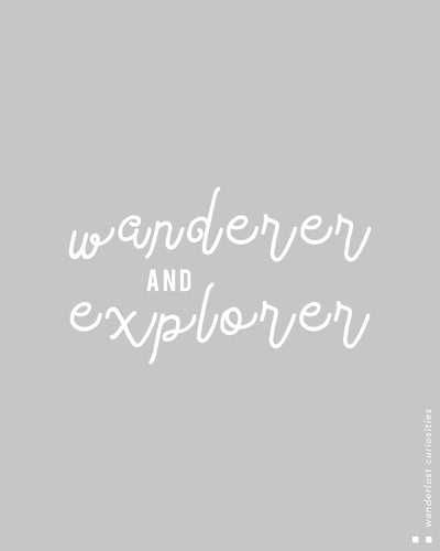 Wanderer & explorer Thermal