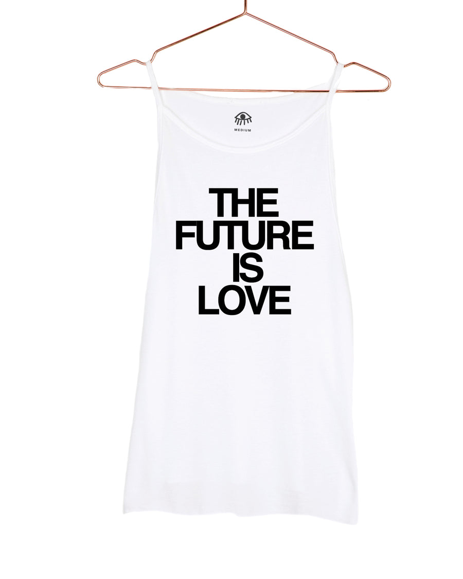The future is love High Neck Tank