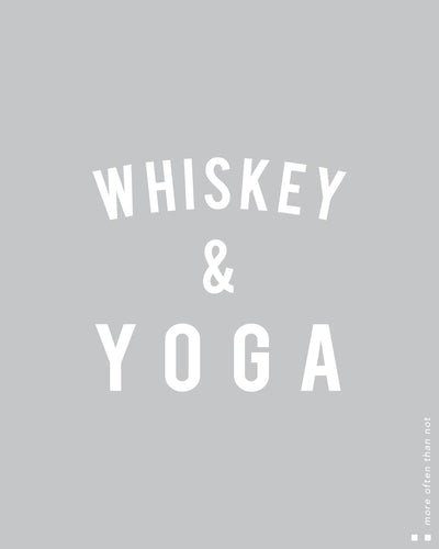 Whiskey & yoga Thermal