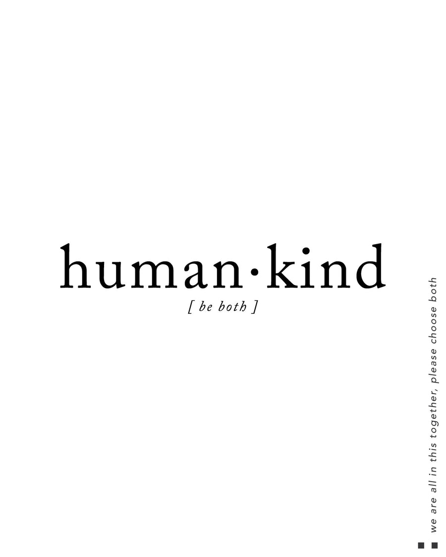 Human.Kind Be Both  Cami Tank