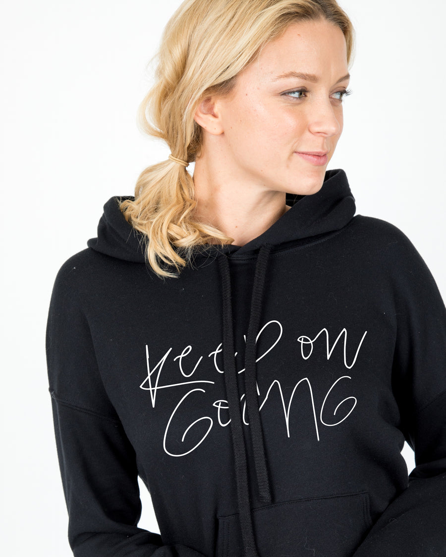 Keep On Going Hooded Sweater