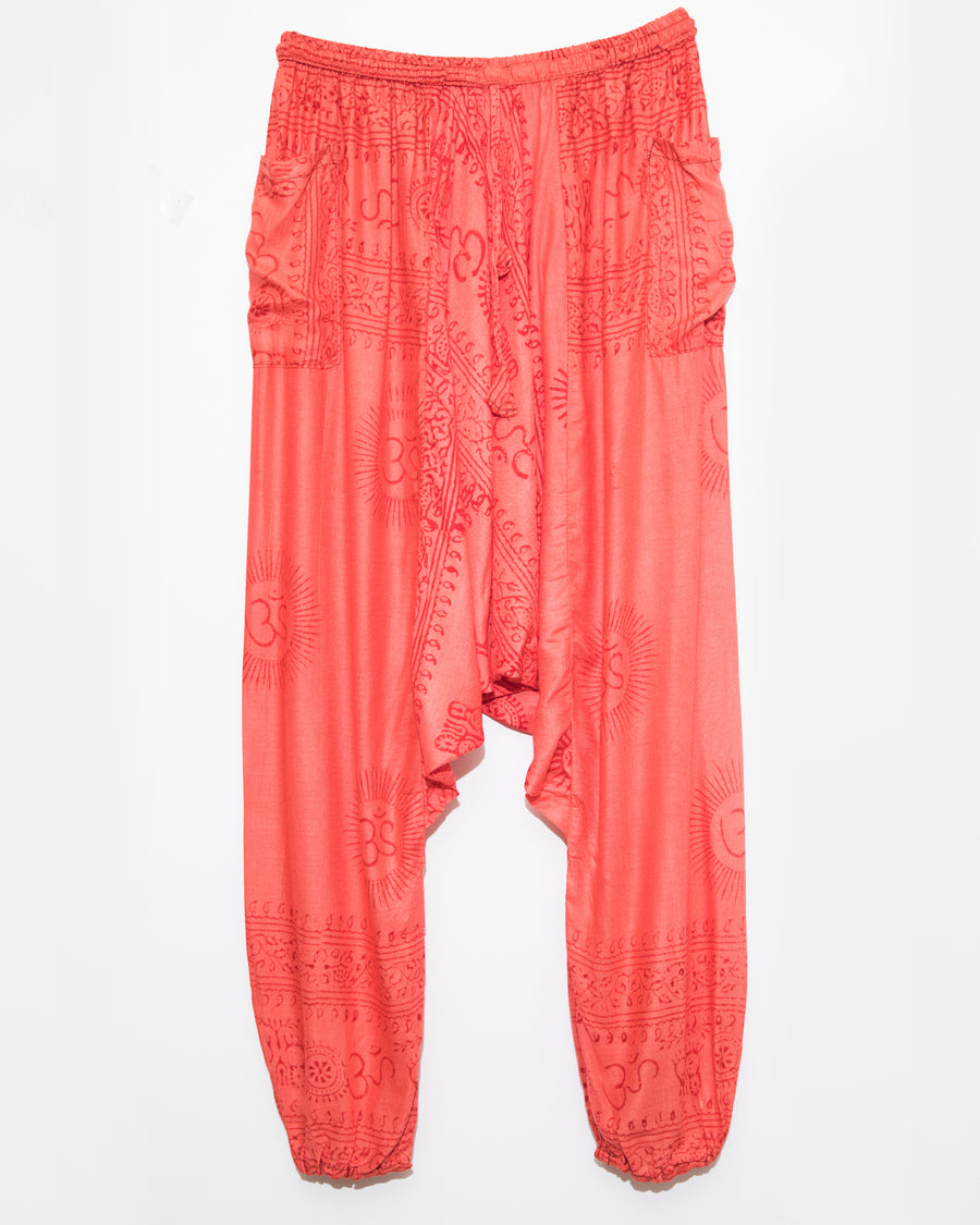 Red Ocean Gypsy Pants