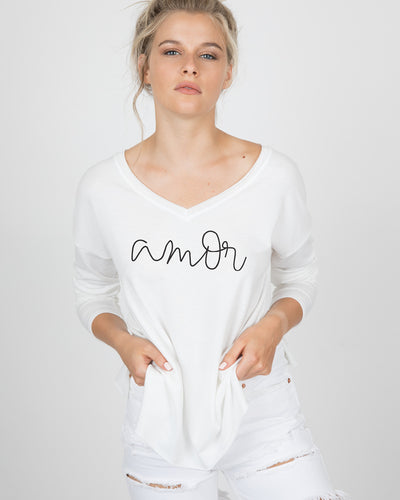 Amor / Love Long Sleeve Tee