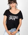 Radiate Love Scoop Tee