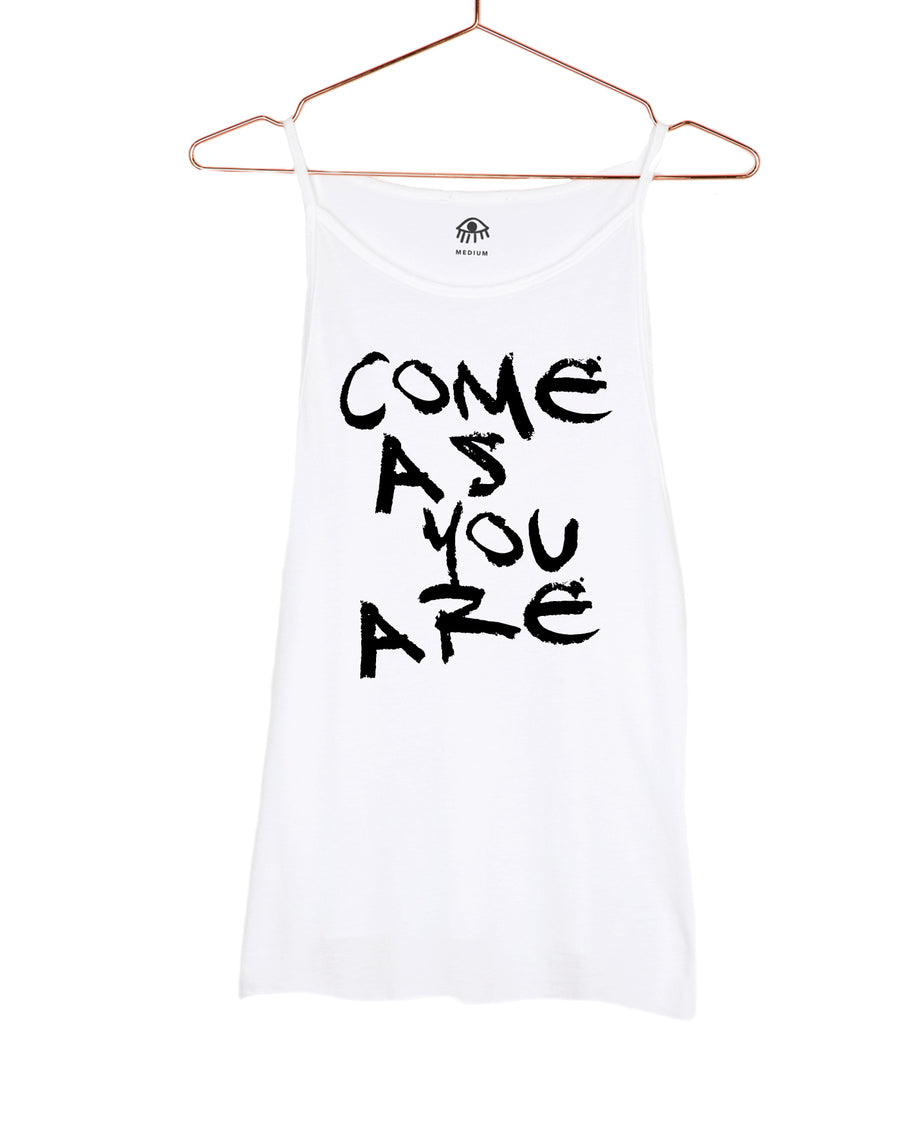 Come As You Are High Neck Tank