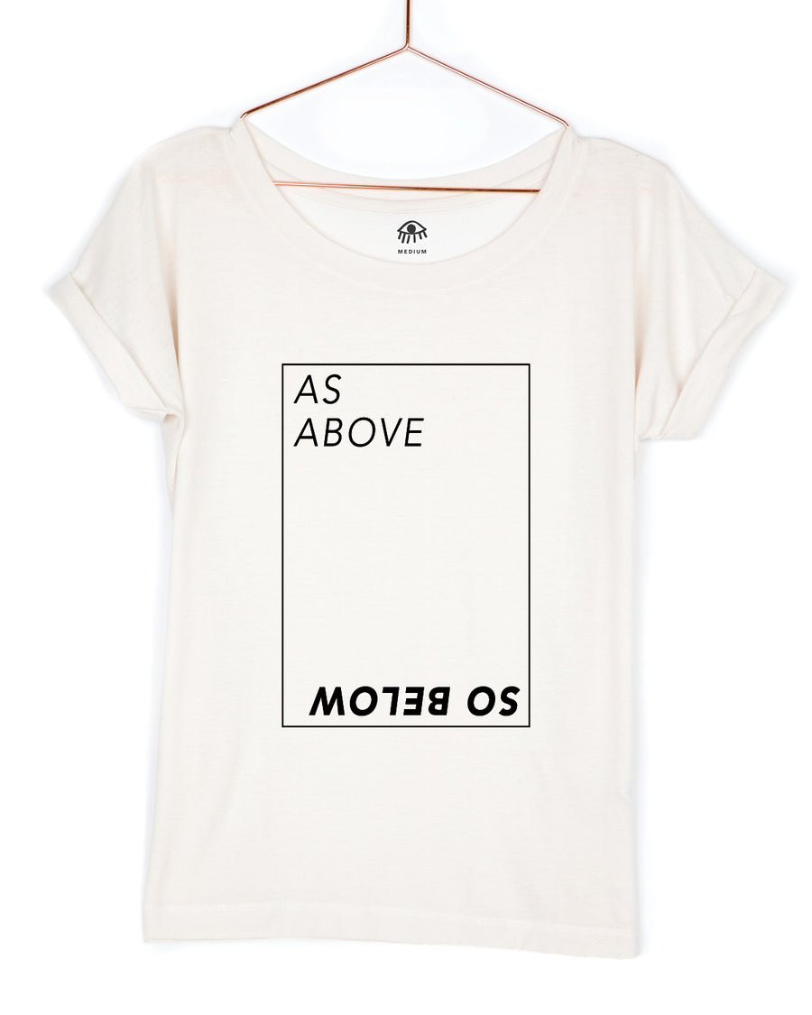 As above so below back Tee