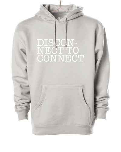 Disconnect to connect Hooded Sweater
