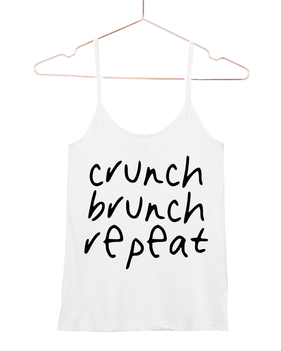 Crunch brunch Repeat Cami Tank