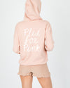 Plie for Pink Hooded Sweater