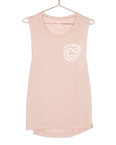 Happy Heart Muscle Tank