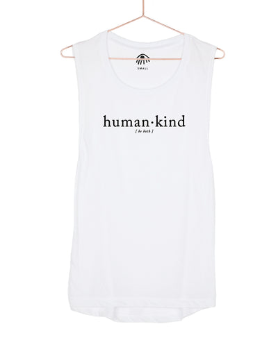 Human.Kind Be Both Muscle Tank
