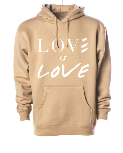 Love is Love Hooded Sweater