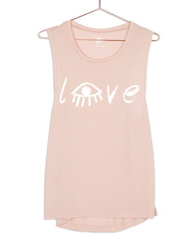 Love Eye Muscle Tank