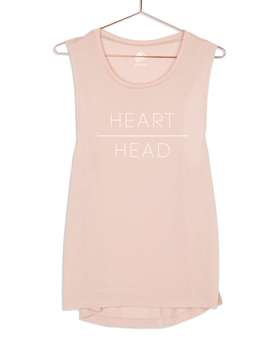 Heart over Head Muscle Tank