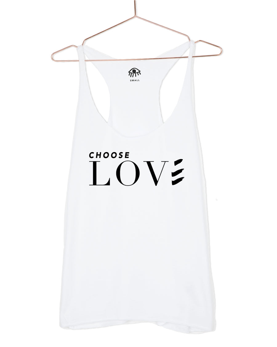 Choose love Tank Top