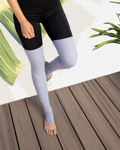 High waist Socks Leggings
