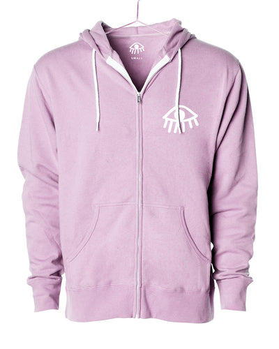 Third eye Zip Up Hooded Sweater