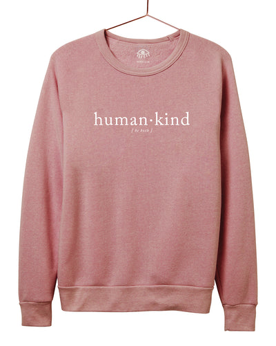 Human.Kind Be both Crewneck