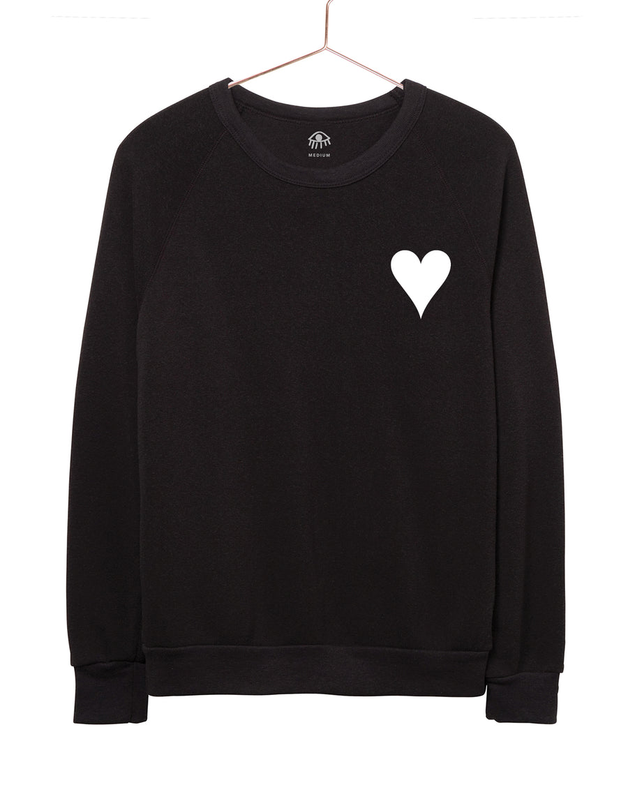 Golden Heart Crewneck