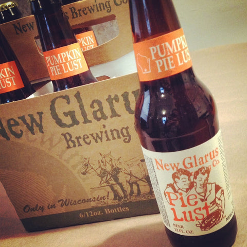 New Glarus Pumpkin Pie Lust